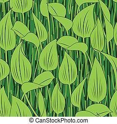 seamless grass bog leaf background - seamless green grass...
