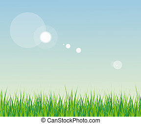 seamless grass with sky