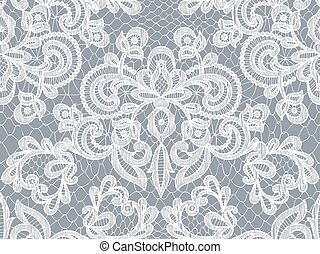 gray lace background