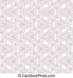 Seamless greek Art Nouveau pattern