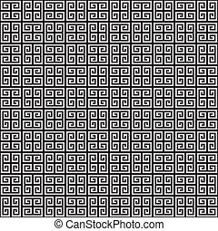 Seamless Greek Key Pattern