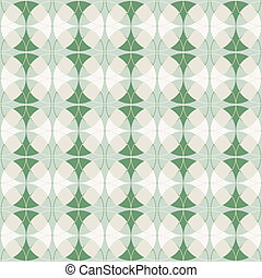seamless green argyle