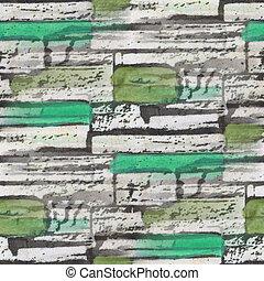 seamless green bog bricks texture background wallpaper...