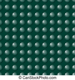 Seamless Green Bubble Background