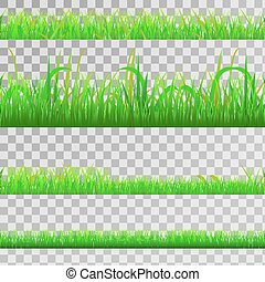 Seamless green grass