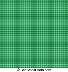 Seamless green grid pattern background