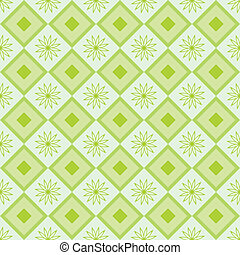 green pattern for background with flowers