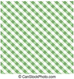 Seamless green plaid pattern