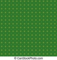 Seamless Green Textile Pattern