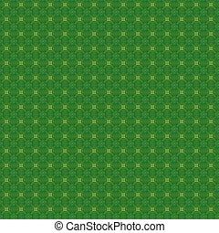 Seamless Green Textile Pattern