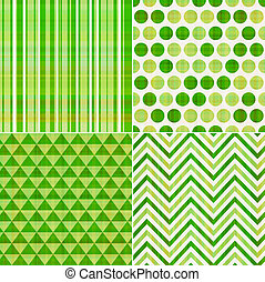 seamless green texture pattern