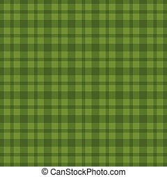 Seamless green vichy pattern. Vector illustration