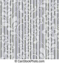 Seamless grey-blue striped pattern