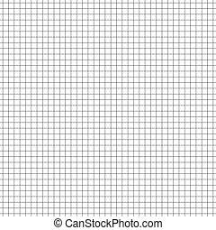 Seamless grid, mesh pattern. millimeter, graph paper ...