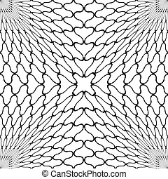 Seamless Grid Pattern. Abstract Triangle Background. Vector...