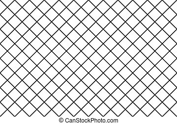 Seamless grid texture, thin lines pattern, Vector tile background