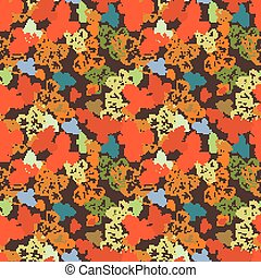 Seamless grunge hipster pattern with birds.