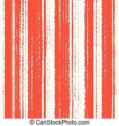 Seamless grunge orange pattern with lines