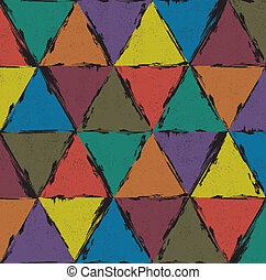 Seamless grunge pattern background. Vector