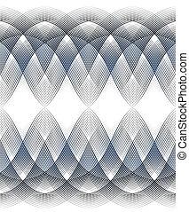 guilloche border - seamless guilloche border for diploma or...