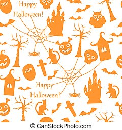 seamless Halloween