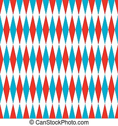 Seamless harlequin pattern background