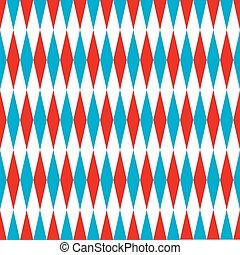 Seamless harlequin pattern background
