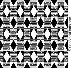 Seamless harlequin pattern. Geometric texture. Vector art.