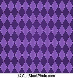 Seamless harlequin pattern-purple - Seamless harlequin or...