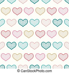 seamless heart texture background