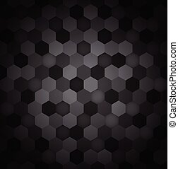 Seamless hexagon pattern abstract background