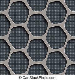 Seamless Hexagon Pattern