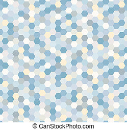seamless hexagonal blue pattern - seamless hexagonal blue ...
