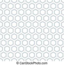 Seamless hexagons honeycomb pattern. - Honeycomb pattern....