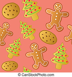 Seamless Holiday Cookies
