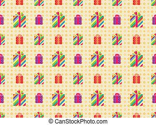 seamless holiday pattern