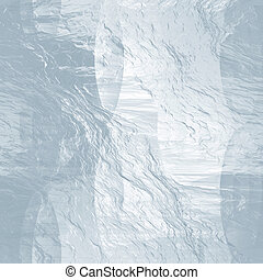 Seamless ice texture (abstract winter background) - Seamless...