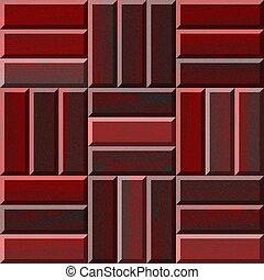 Seamless illustration of wooden parquet flooring