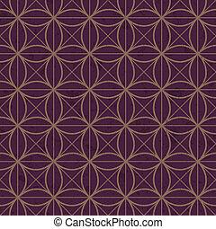 seamless interlocking mesh pattern