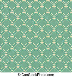 seamless interlocking mesh pattern