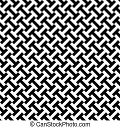 Seamless intermeshing geometric pattern background.
