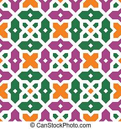 Seamless islamic vector pattern