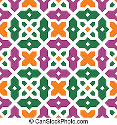 Seamless islamic vector pattern