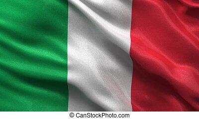 Seamless Italian Flag