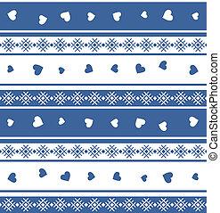Seamless jacquard knit (valentine). EPS 8