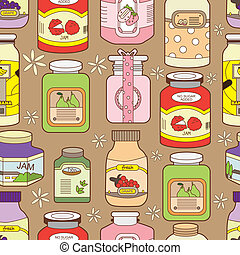 seamless jam pattern  - seamless jam pattern