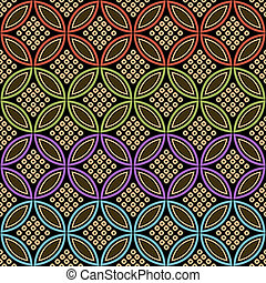 seamless japanese fabric pattern