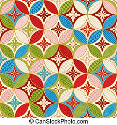 seamless japanese interlocking pattern