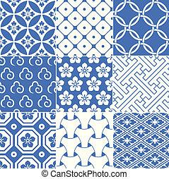 seamless japanese pattern - seamless japanese traditional...