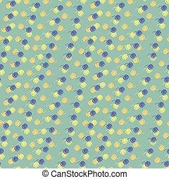 seamless, kék, befest, megvonalaz, tulipán, alakzat, vektor, nulla, sárga, motívum